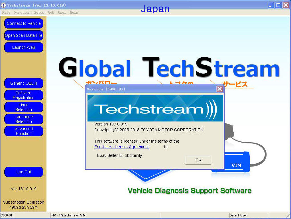 Techstream 04  2018 Obd2 Toyota Lexus Tis Software V13 10 019 Download