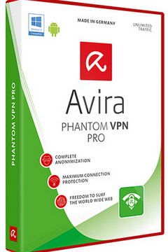 Avira Phantom VPN Pro 2.2.3.19655 + Crack Download